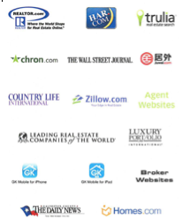 Online Real Estate Search Engine Logos